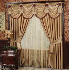 Types Of Curtains For Living Room Curtains With Valance For Living Room Home Design Ideas