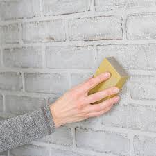 clean painted wallsPaint a FauxBrick Wall