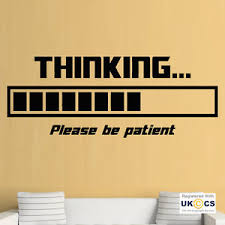 cool wall stickers home office wall. Image Is Loading Thinking-Loading-Office-Funny-Cool-Study-Wall-Art- Cool Wall Stickers Home Office