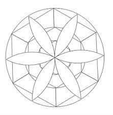 Mandala Disegno Da Colorare Gratis 17 Facile Semplice Disegni Da