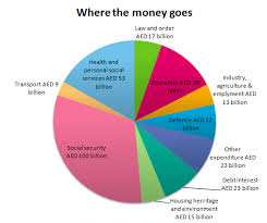 The Pie Chart Gives Information On Uae Government Spending