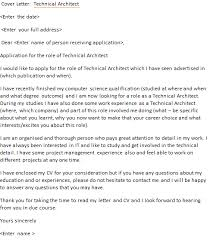 technical architect cover letter example icoverorguk architecture cover letter