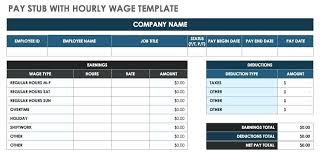 Check Stub Template Free Download Paycheck Template Excel Pay Stub Template Unique Check Stub Template