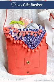 mother s day present how to make a diy purse gift basket the perfect present for any