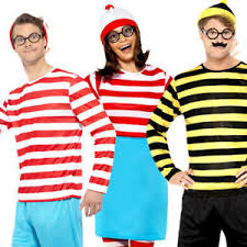Details About Whereu0027s Wally Adults Fancy Dress World Book Day Week Waldo Character  Costumes