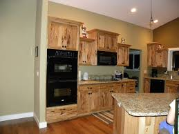 Kitchen Colors Black Appliances Kitchen Rustic Maple Kitchen Cabinets Rustic Hickory Kitchen