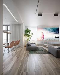 Home Designs: Geometric Rug - Wood Interior