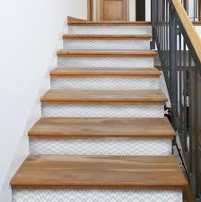 Herringbone Stair Riser Decals