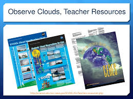 S Cool Cloud Identification Chart Ppt Ceres Students Cloud Observation On Line Project S