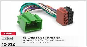 popular volvo radio harness buy cheap volvo radio harness lots carav 12 032 iso radio adapter for volvo 2004 select models wiring
