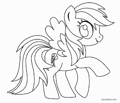 my little pony color page. Plain Color My Little Pony Coloring Pages Rainbow Dash For Color Page O