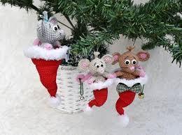 Häkelanleitung Die Weihnachtsmäuschen Zwei Größen