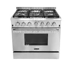 stove 36 inch. hyxion 36inch stainless steel 6 burner industrial stoves and ovens stove 36 inch