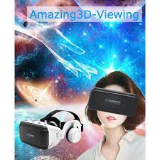 Bộ Kính Thực Tế Ảo 3d Evebot 7 Inch Hỗ Trợ Vr Đeo Đầu - Thiết bị thực tế ảo  VR Nhãn hàng VR BOX
