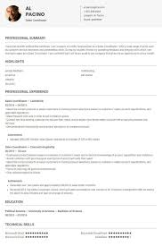 Sales Coordinator Resume Sales Coordinator Resume Sample Template By Skillroads 23