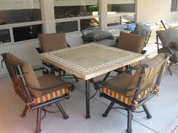 Travertine Outdoor Table