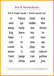 Prek Reading Worksheets Word Worksheets Printable Word Lists A To Z ...