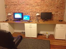 home office work table. Full Imagas Natural Wooden Home Office Work Table Combined With White Cabinet Applied On The F