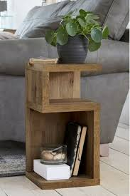 oak effect bronx s side table wood
