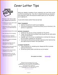 8 Writing Cover Letter Tips Agenda Example