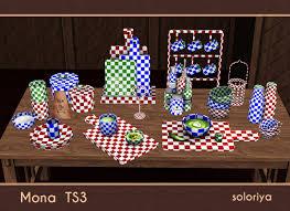 soloriya: Mona. Sims 3