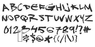 Graffiti Font Free 50 Awesome Graffiti Fonts