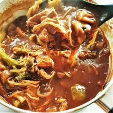 leftover roast pork in garlic sauce