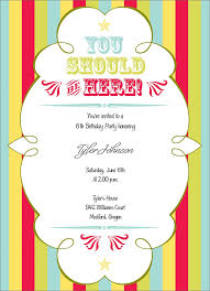 Circus Theme Invitation Circus Theme Invitation Birthday Greeting Cards By Cardsdirect