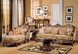 Victorian Style Living Room Victorian Living Room Decor Brown Leather Sectional Sofa Features