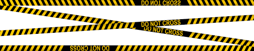 <b>Police Line Do Not</b> Cross Tapes (PNG Transparent) | OnlyGFX.com