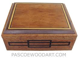 Document Boxes Decorative Handcrafted Wood Box Large Decorative Keepsake Box Document Box 4