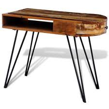 rustic office desk. wonderful desk rustic writing computer desk reclaimed solid wood office furniture w 1  drawer to