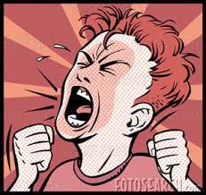 Resultado de imagem para desenho raiva