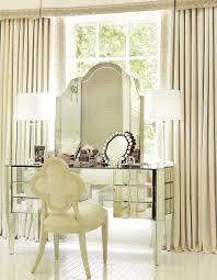 bedroom antique luxury design with mirrored vanity plus