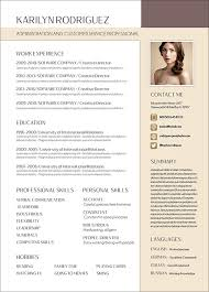 Cv Pattern 50 Free Resume Cv Template In Photoshop Psd Format For