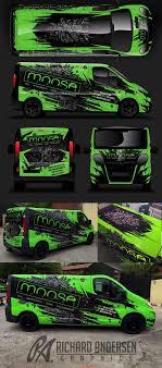 Vehicle Wrap Design Online Van Wrap Design With Custom Character