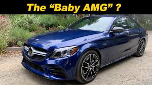 With the lexus is sedan starting around. 2019 Mercedes Benz C43 The Just Right Amg Youtube
