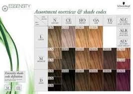 Essensity Colour Chart New Essensity Color Wall Chart Skp Essensity Canrad