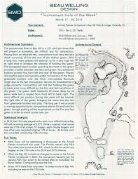 the bwd tournament hole of the week march 17 20 2016 the 17th at bay hill club lodge home of arnold palmer invitational