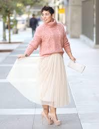 diy tulle skirt similar here forever 21 sweater here pearl clutch similar here steve madden heels option here