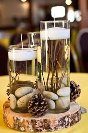 Pine Cone Candles Best 25 Rustic Candle Centerpieces Ideas On Pinterest Candle