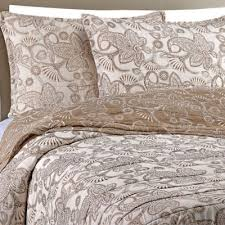 Buy Cotton Queen Quilts from Bed Bath & Beyond & Gaya Cotton Voile Full/Queen Quilt Set in Taupe Adamdwight.com