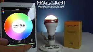 Blue Sky Wireless Light Bulb How To Setup Your Magiclight Bluetooth Speaker Bulb