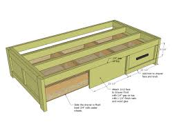platform bed with drawers plans. Platform Bed With Drawers Plans Ideas And Nightstands Attached Pictures S