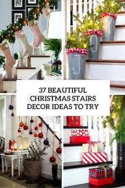 ... Banister Christmas Decorations Beautiful Staircase Ideas To Try  Beautiful Staircase Ideas To Try Banister Banquette Banister ...