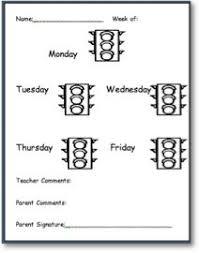 Printable Red Light Green Light Behavior Chart 14 Best Preschool Behavior Images Preschool Behavior