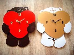 """Купить Настенные <b>часы</b> """"Любвеобильный <b>мишка</b>"""" - черный, <b>часы</b> ..."""