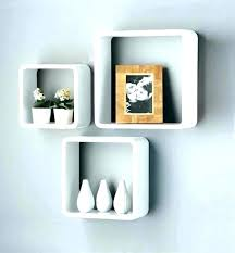 floating cube shelves floating box shelves wall shelf hanging deep decoration display cube