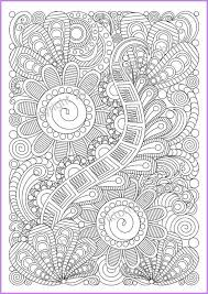 Zentangle Art Coloring Page 5 For Adult Zentangle Inspired Coloring