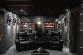 gaming man cave. Amazing Home Theatre Gaming Man Cave E